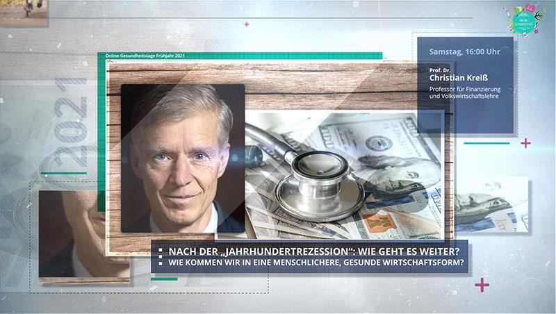 Prof. Christian Kreiß - GGB-Gesundheitstage 2021