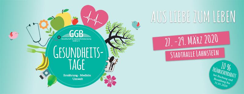 Gesundheitstage Frühjahr 2020 GGB Lahnstein