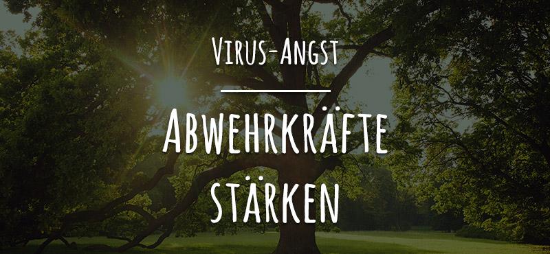 Virus-Angst - Abwehrkräfte stärken