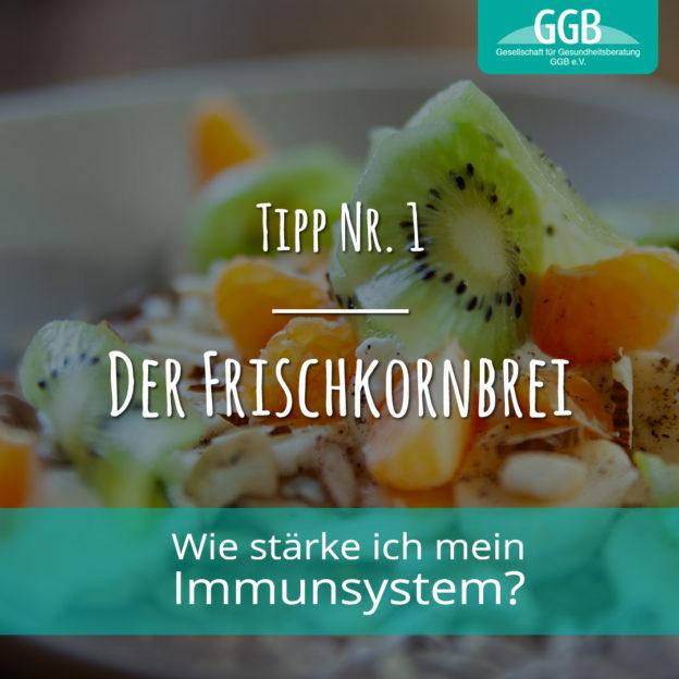 Wie stärke ich mein Immunsystem - Tipp 1: Frischkorngericht