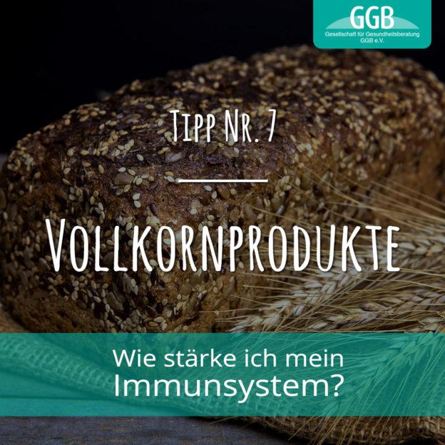 Corona Immunsystem Tipp07 Vollkornprodukte