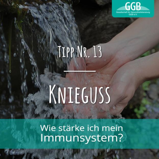 Corona Immunsystem Tipp13 Knieguss