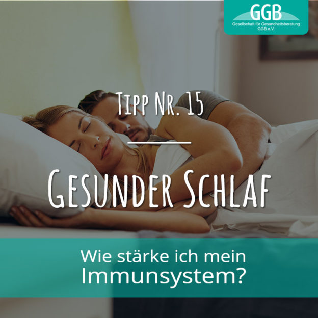 Corona Immunsystem Tipp 15 Gesunder Schlaf
