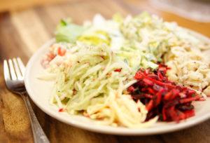 Frischkost Salatvariationen