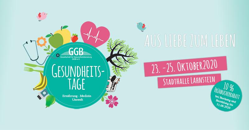 GGB Gesundheitstage Herbsttagung 2020