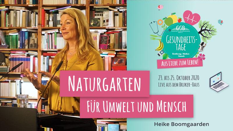 Heike Boomgaarden GGB Gesundheitstage Herbst 2020