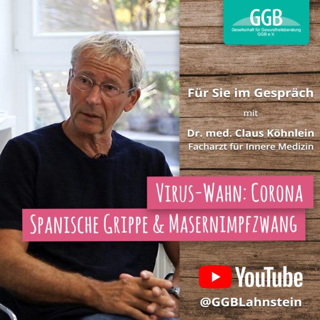 Dr. med. Claus Köhnlein - GGB Für Sie im Gespräch
