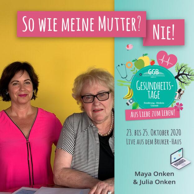Maya Onken und Julia Onken Online Gesundheitstage GGB