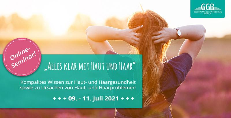 Online-Seminar - Alles klar mit Haut und Haar